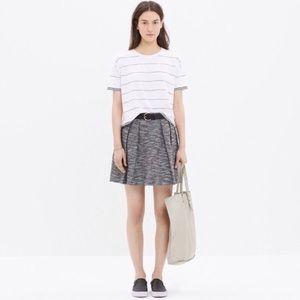 Madewell Countdown Tweed Skirt